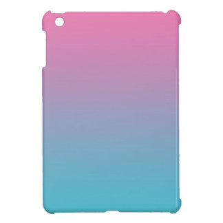 Pink & Turquoise Ombre Cover For The iPad Mini