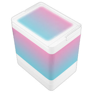 Pink & Turquoise Ombre Drink Cooler