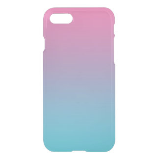 Pink & Turquoise Ombre iPhone 7 Case