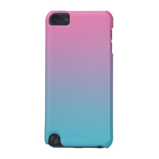 Pink & Turquoise Ombre iPod Touch (5th Generation) Case