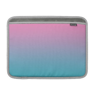 Pink & Turquoise Ombre MacBook Air Sleeves