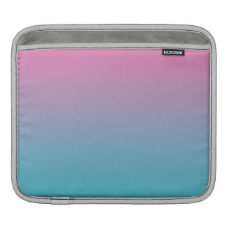 Pink & Turquoise Ombre Sleeve For iPads