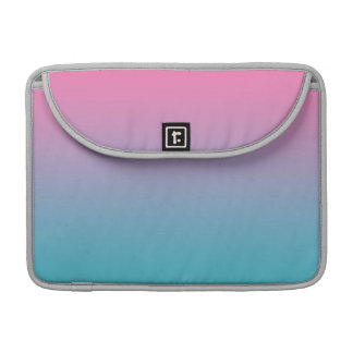 Pink & Turquoise Ombre Sleeve For MacBooks