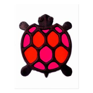 Pink Turtles Design Postcard