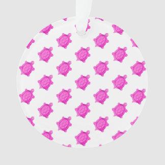Pink Turtles Pattern