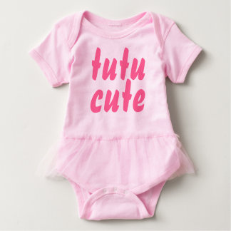 Pink Tutu Cute Baby Girl Tutu Romper