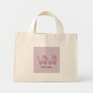 pink twin baby buggy canvas bags