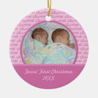Twins First Ornaments & Keepsake Ornaments | Zazzle