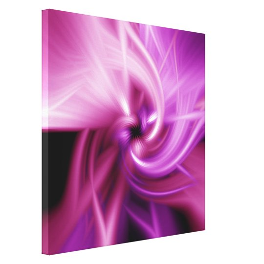 Pink Twist Canvas Print