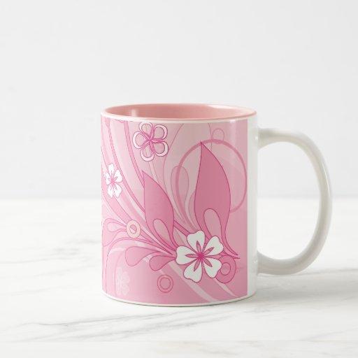 pink Two-Tone coffee mug