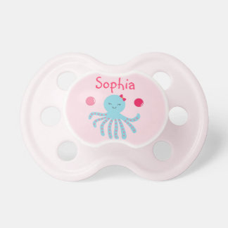 Pink Under the Sea Pacifier