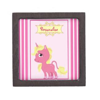 """""""Pink Unicorn"""" Jewelry Box"""