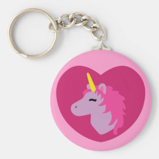 Pink Unicorn Keychains