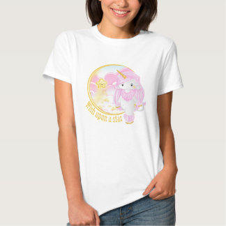 Pink Unicorn Po T-shirt