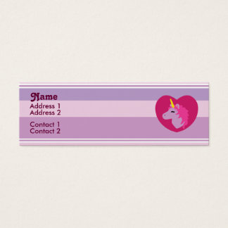 Pink Unicorn Profile Cards