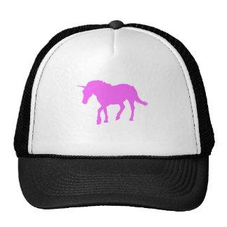 Pink Unicorn Silhouette Hat