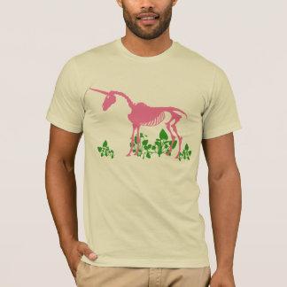 Pink Unicorn Skeleton T-Shirt