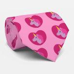 Pink Unicorn Tie