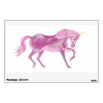 Pink Unicorn Wall Decal