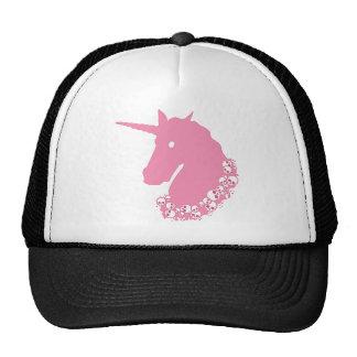 Pink Unicorn with Skulls Trucker Hat