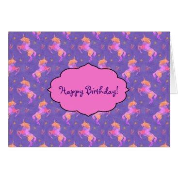 linda_mn Pink Unicorns Card