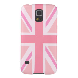 Pink Union Jack/Flag Galaxy S5 Cover