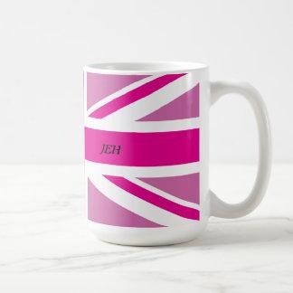 Pink Union Jack Mug