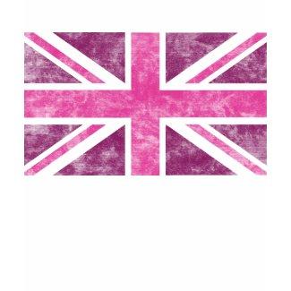 Pink Union Jack Shirt shirt