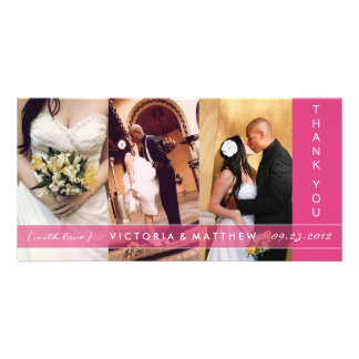 PINK UNION | WEDDING THANK YOU CARD