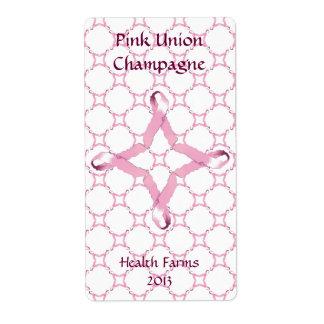 Pink Union Wine Labels