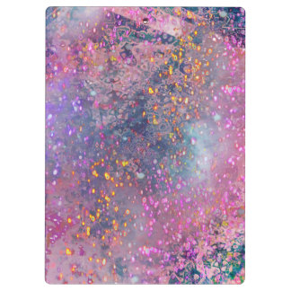 pink universe clipboards