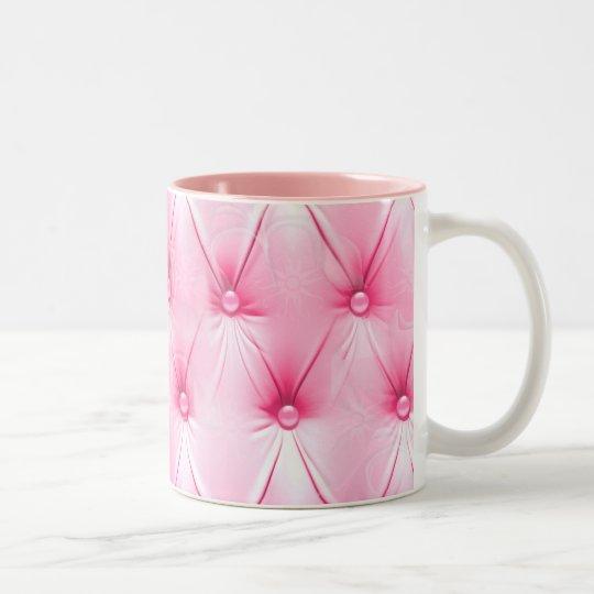 Pink Upholstery Pattern Mug