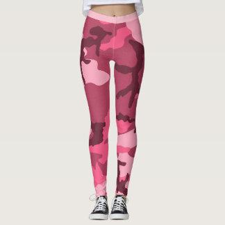 Pink Urban Camo Leggings