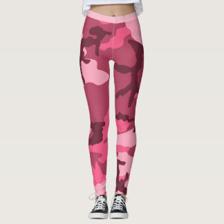 Pink Urban Camo Leggings