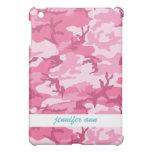 Pink Urban Camoflage Pattern iPad Mini Covers
