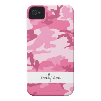 Pink Urban Camoflage Pattern iPhone 4 Cover