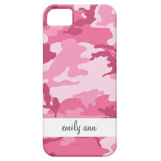 Pink Urban Camoflage Pattern iPhone SE/5/5s Case