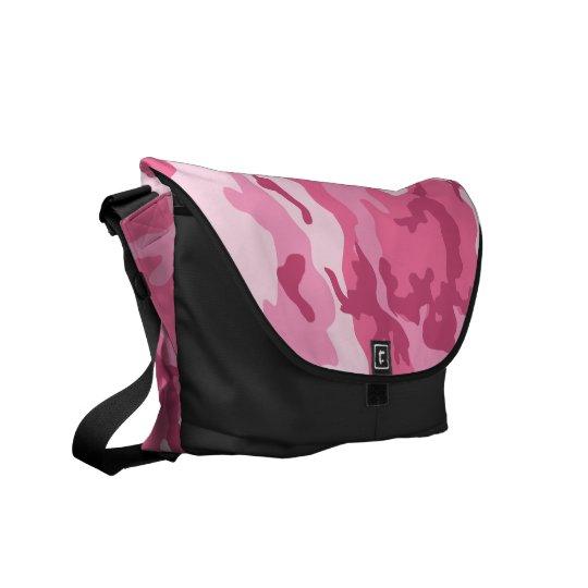 Pink Urban Camoflage Pattern Messenger Bag