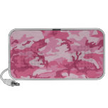Pink Urban Camoflage Pattern Portable Speaker