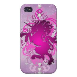 Pink Urban Fantasy Unicorn 4g I iPhone 4/4S Case