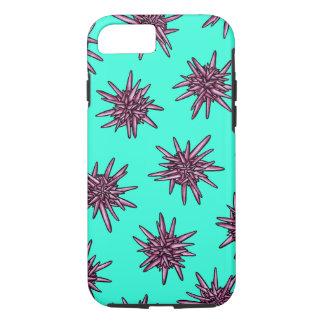Pink Urchins Aqua iPhone 7 Case