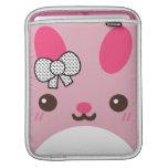 Pink Usagi Bunny Rabbit iPad Sleeves