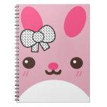 Pink Usagi Bunny Rabbit Note Book
