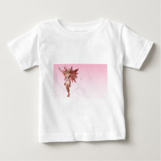 Pink Valentine Fairy and frosted pink hearts - 1 Infant T-shirt