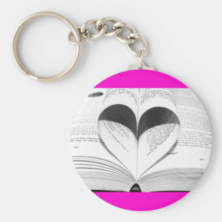 Pink Valentine s Day Girly Heart Save the Date Key Chains