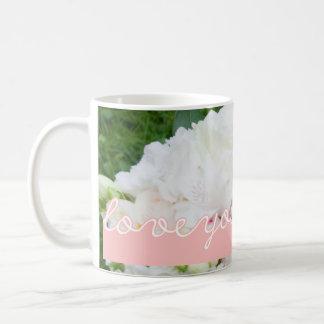 Pink Valentine's Day Photo Love You So Much Custom Coffee Mug