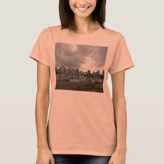 Pink Vancouver Landscape T-Shirt
