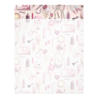 Pink Vanity Table Letterhead