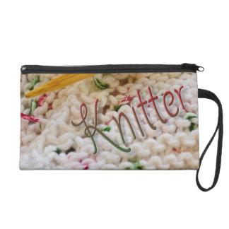 Pink Variegated Knitter Wristlets