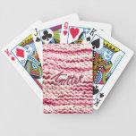 Pink Variegated Knitter Card Decks